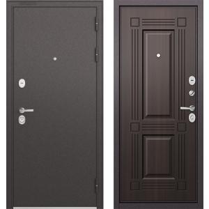 Стальная дверь Бульдорс STANDART 90 ларче тёмный 9S-136