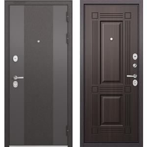 Стальная дверь Бульдорс STANDART 9К-4 90 ларче тёмный 9S-104