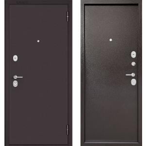 Стальная дверь Бульдорс STANDART 70 STEEL металл / металл