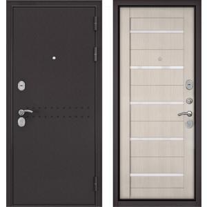 Стальная дверь Бульдорс MASS 90 ларче бьянко СR-3 царга