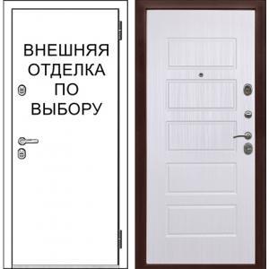 Входная дверь Зелар Внутренняя отделка рис. 85 Домино
