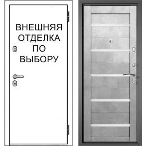 Входная дверь Зелар Внутренняя отделка Царга 5, рис. Стекло Лака