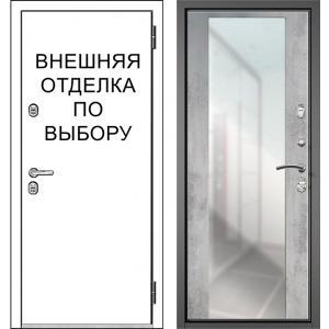 Входная дверь Зелар Внутренняя отделка рис. ФЗЛ-70 зеркало