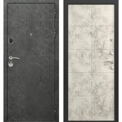 дверь Зелар Евро Конструктор Бетон темный рис. 154, Бетон светлы