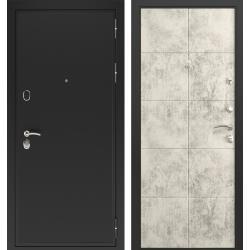 дверь Зелар Евро Конструктор Черный муар, Бетон светлый рис. 155