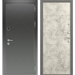 дверь Зелар Евро Конструктор Черный антик, Бетон светлый рис. 15