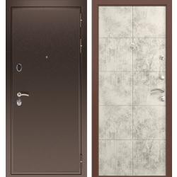 дверь Зелар Евро Конструктор Медь, Бетон cветлый рис. 155