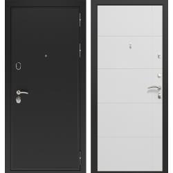 дверь Зелар Евро Конструктор Черный муар, Белый матовый рис. 156