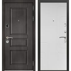 дверь Зелар Евро Конструктор Венге тисненный рис. 149, Силк сноу