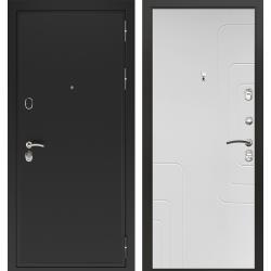дверь Зелар Евро Конструктор Черный муар, Силк сноу рис. 151