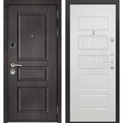 дверь Зелар Евро Конструктор Венге тисненный рис. 149, Ясень бел