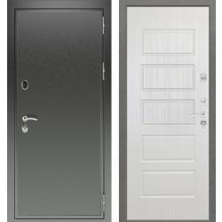дверь Зелар Евро Конструктор Черный антик, Ясень белый рис. 85 Д