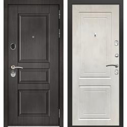 дверь Зелар Евро Конструктор Венге тисненный рис. 149, Бетон кре