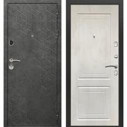 дверь Зелар Евро Конструктор Бетон темный рис. 154, Бетон крем р