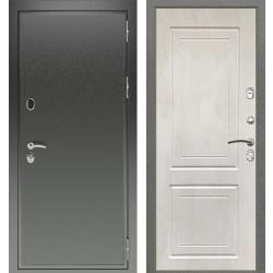 дверь Зелар Евро Конструктор Черный антик, Бетон крем рис. 69