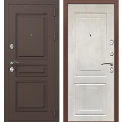 дверь Зелар Евро Конструктор Ral 8019 - Штамп-2 Коричневый, Бето