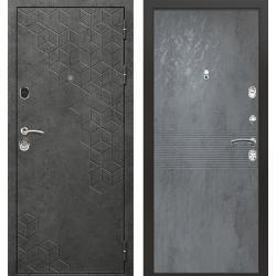 дверь Зелар Евро Конструктор Бетон темный рис. 154, Бетон темный