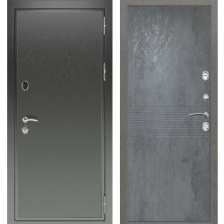 дверь Зелар Евро Конструктор Черный антик, Бетон темный  рис. 15