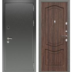 дверь Зелар Евро Конструктор Черный антик, Тисненный орех рис. 5