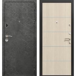 дверь Зелар Евро Конструктор Бетон темный рис. 154, Лиственница