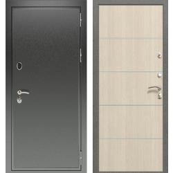 дверь Зелар Евро Конструктор Черный антик, Лиственница беж Молди