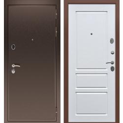 дверь Зелар Евро Конструктор Медь антик, Белый ясень рис. 65