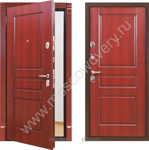 уличные двери с металлическим покрытием